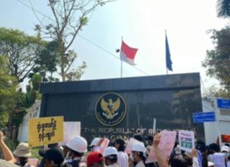 Kedubes RI di Thailand dan Myanmar Didemo Terkait Kudeta Myanmar, Ada Apa Sebenarnya?