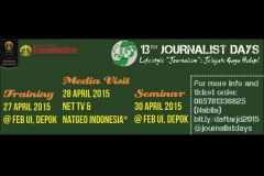 13TH JOURNALIST DAYS 2015