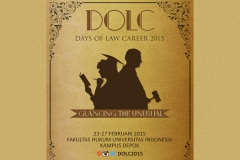 Days Of Law Career 2015 - Universitas Indonesia