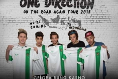 Timnas Digusur One Direction, #SaveGBK Menggelora