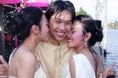Bingung Memilih, Pria Ini Nikahi 2 Wanita Kembar Sekaligus