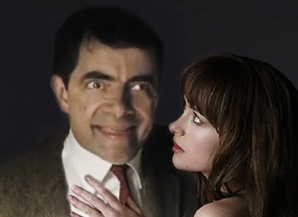 Beginilah Jadinya Jika Mr.Bean Beradegan Hot di '50 Shades of Grey'