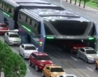Uji Coba Perdana Bus Anti Macet di China