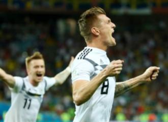 Gol Toni Kroos di Menit 94 Menjaga Asa Jerman Mempertahankan Juara Dunia
