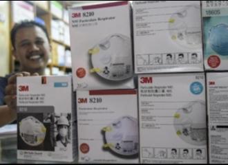 Ancaman Virus Corona Bikin Masker N95 Laku Keras Hingga Dibanderol Tinggi