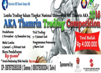 AKA Thamrin Trading Competition 2016