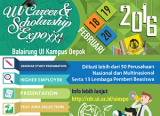 UI Career & Scholarship Expo XXI
