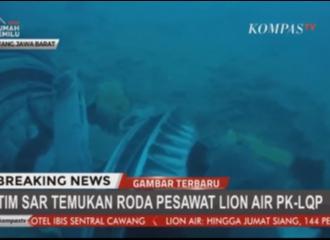 Update Kecelakaan Pesawat Lion Air PK-LQP JT-610: Roda & Mesin Pesawat telah Ditemukan