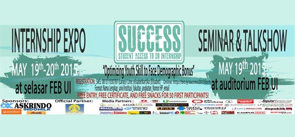 SUCCESS (Student Access to do Internship) 2015