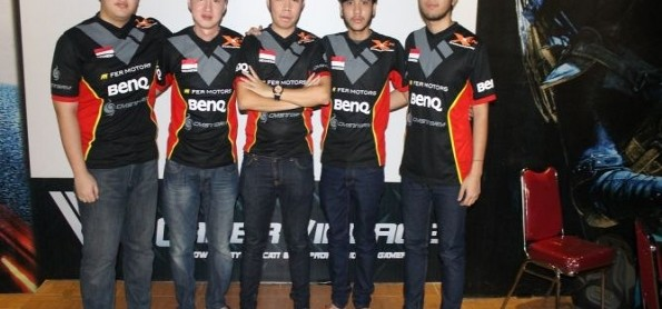 Tim XCN Divisi Cross Fire Gamer Counter Strike Indonesia